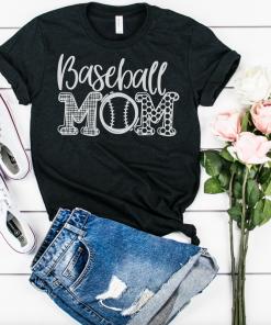 TNGU-2D-2006554542146 Baseball Mom Unisex Shirt