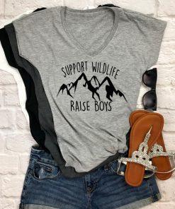 TNGU-2D-1767656390722 Support Wildlife, Raise Boys Shirt